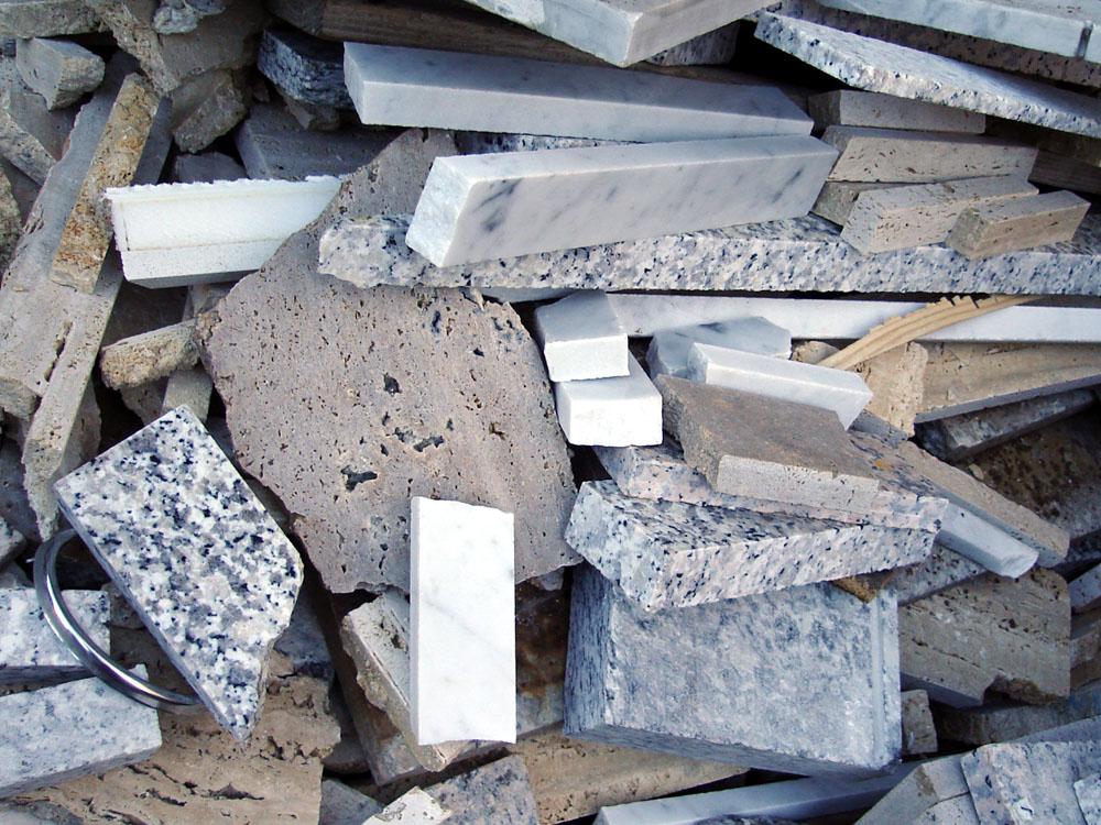 Scarti di marmo